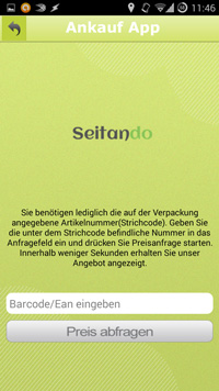 Screenshot Ankaufapp
